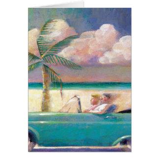 Florida Road Trip note card