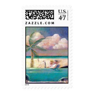 Florida Road Trip postage stamp