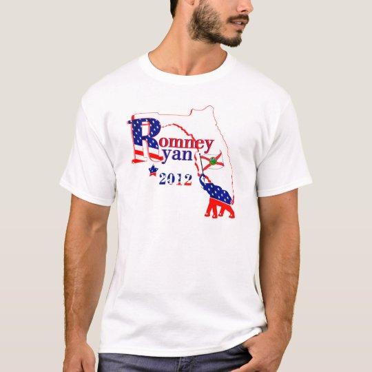 Florida Romney and Ryan 2012 Tee Shirt