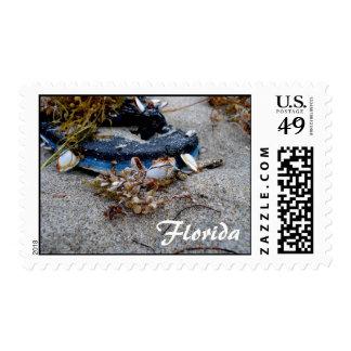 Florida sandal stamp