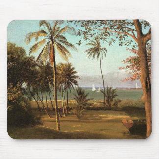 Florida Scene - Albert Bierstadt Mouse Pad