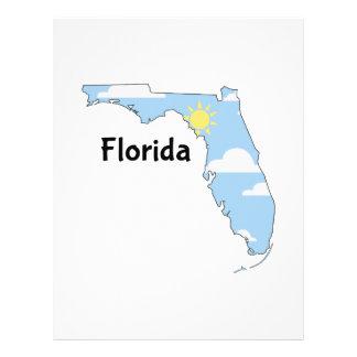 Florida Scene Personalized Letterhead