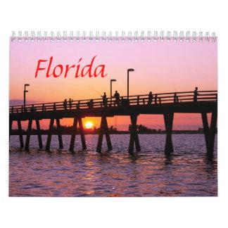 Florida scenes Calendar
