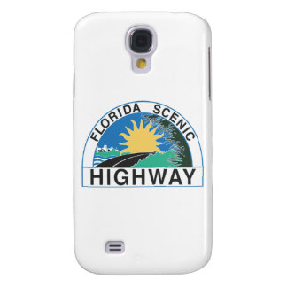 Florida Scenic Highway Road Sign Travel Galaxy S4 Cover