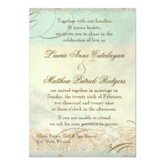 Florida Sea Turtle Modern Coastal Ocean Beach Card
