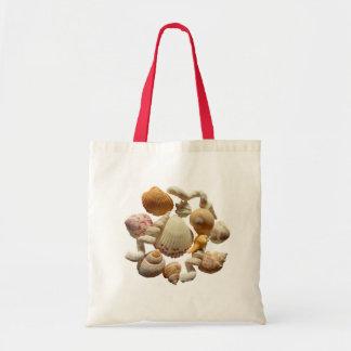 Florida Seashells Tote Budget Tote Bag