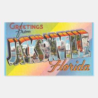 Florida, Sheet of 4 Jacksonville stickers