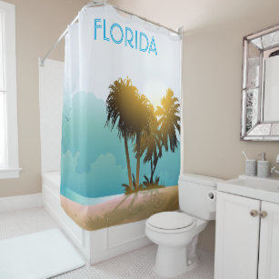 Florida Souvenirs Shower Curtains