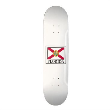 Beach Themed Florida Skateboard