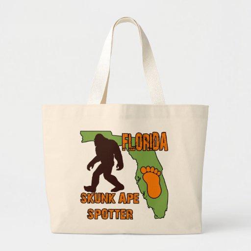 Florida Skunk Ape Spotter Jumbo Tote Bag