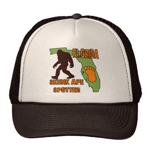 Florida Skunk Ape Spotter Trucker Hat