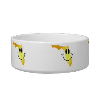 Florida Smiley Face Bowl