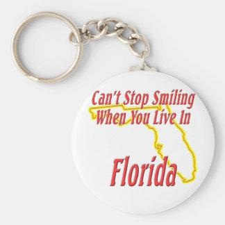 Florida - Smiling Keychain