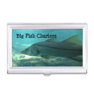 Florida Snook Business Card Holder