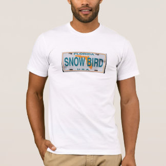 Florida Snowbird USA motor car nameplate T-Shirt