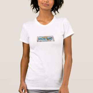 Florida Snowbird USA registration plate T-Shirt