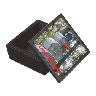 Florida Snowman Gift Box