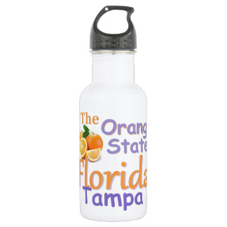 FLORIDA STAINLESS STEEL WATER BOTTLE