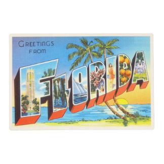 Florida State # 2 FL Old Vintage Travel Souvenir Placemat