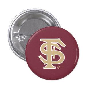 Florida State Baseball Button