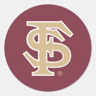 Florida State Baseball Classic Round Sticker