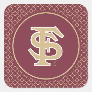 Florida State Baseball Square Sticker