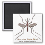 Florida State Bird 2 Inch Square Magnet