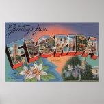 Florida (State Capital Scene) Posters