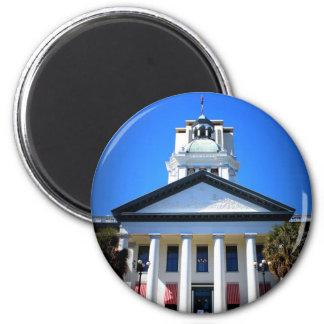 FLORIDA STATE CAPITOL 2 INCH ROUND MAGNET