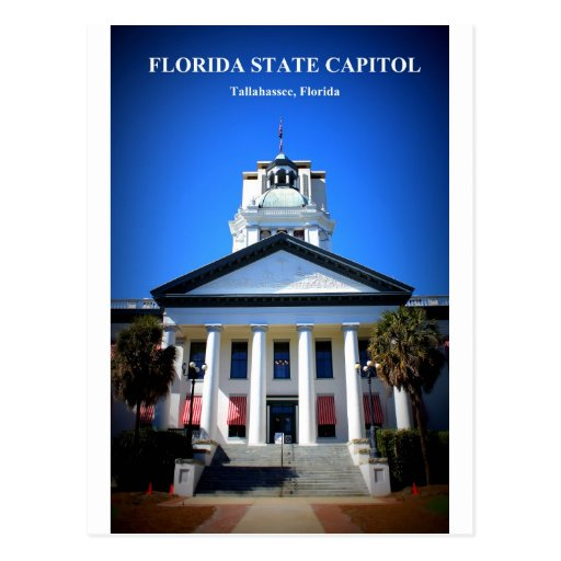 FLORIDA STATE CAPITOL POST CARD
