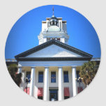 FLORIDA STATE CAPITOL ROUND STICKERS