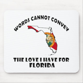 Florida state designs mouse pad