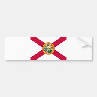 Florida State Flag Design Bumper Sticker