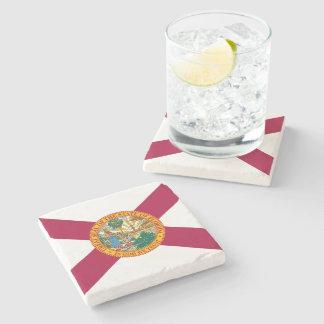 Florida State Flag Stone Coaster