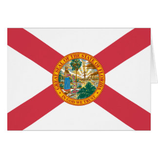 Florida State Flag Greeting Card