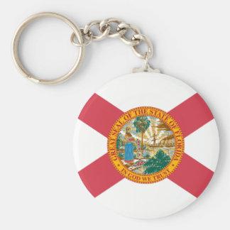 Florida state flag keychains