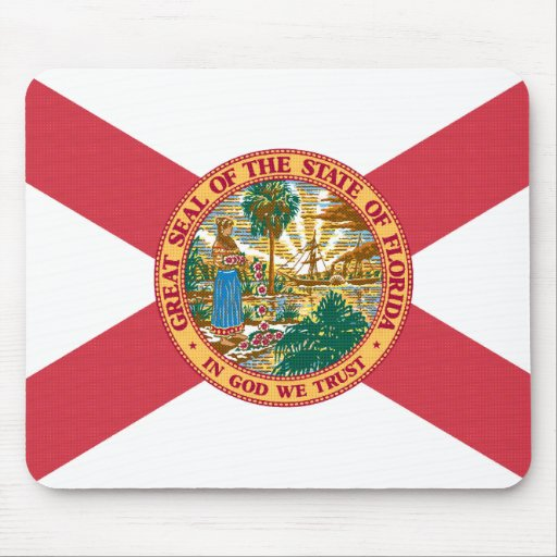 Florida State flag Mouse Pad