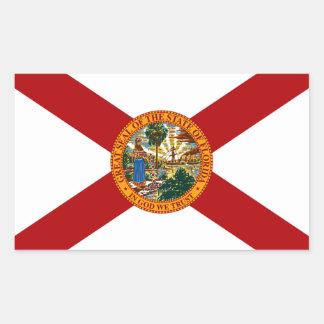 Florida State Flag Rectangular Sticker