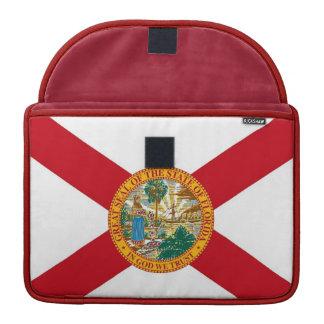 Florida State Flag Rickshaw Flap Sleeve Sleeve For MacBooks