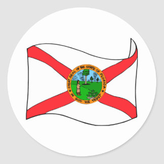 Florida State Flag Stickers