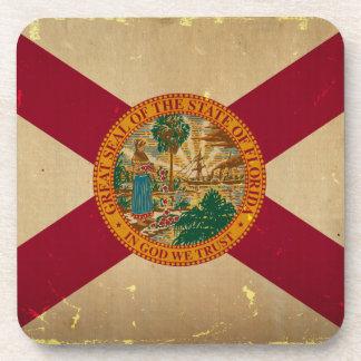 Florida State Flag VINTAGE.png Drink Coaster