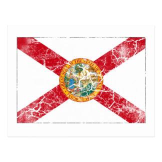 Florida State Flag Vintage Postcard