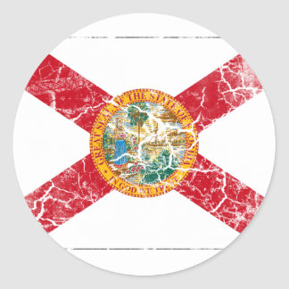 Florida State Flag Vintage Stickers