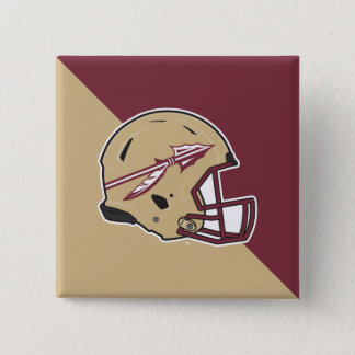 Florida State Football Helmet Button
