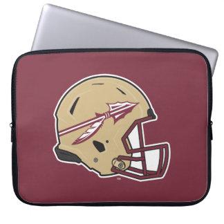 Florida State Football Helmet Laptop Sleeve