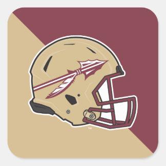 Florida State Football Helmet Square Sticker