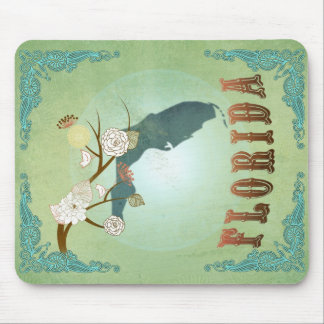 Florida State Map – Green Mouse Pad