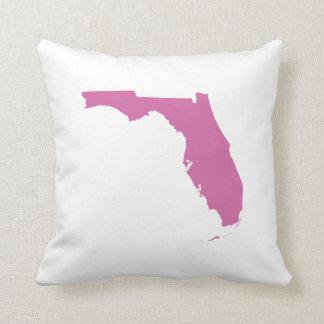Florida State Outline Throw Pillow