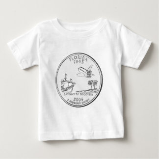 Florida State Quarter Baby T-Shirt