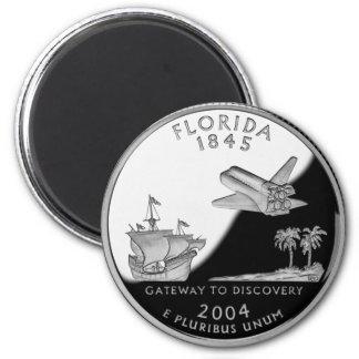 Florida State Quarter Magnet